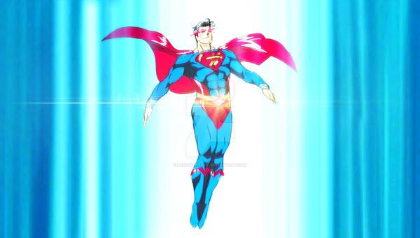 Rise to Sun - Superman by DEMONAnelot