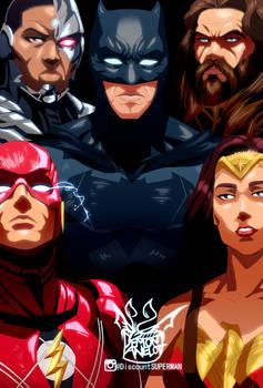Justice League Anime Adaptaion