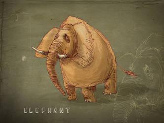 elephant by sedatgirgin