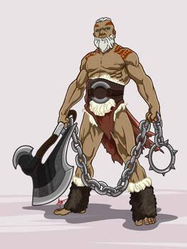 Alamid the Barbarian