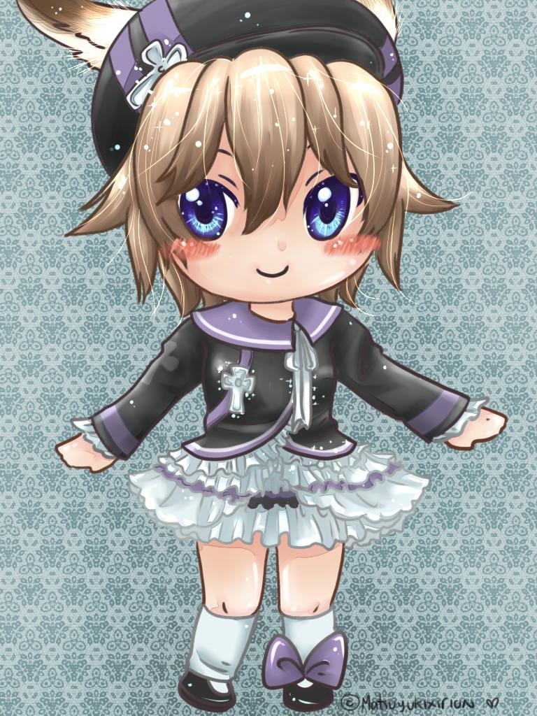 Chibi Bunny Girl by matsuyukixirion