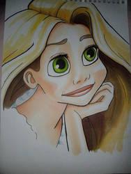 Rapunzel by rudiroo
