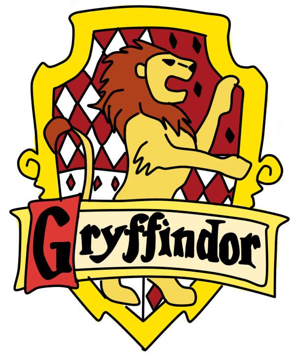 gryffindor logo Colour...