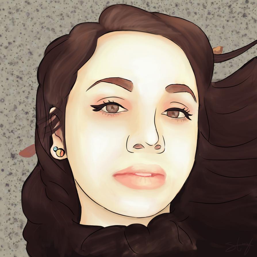 Commission_Autumn Portrait by Sereida-Arts