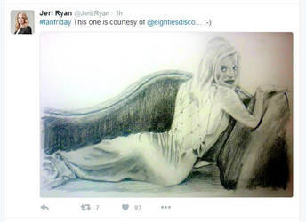 Jeri Ryan Praise by 80sdisco