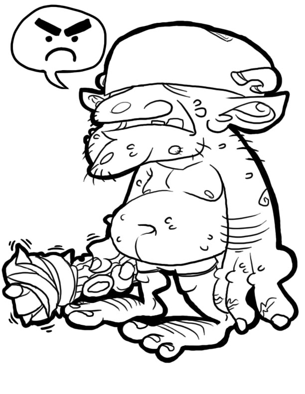 Coloring sheet- Goblin by PepperoniDeluxe on DeviantArt