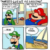 Mario and Luigi go Sailing