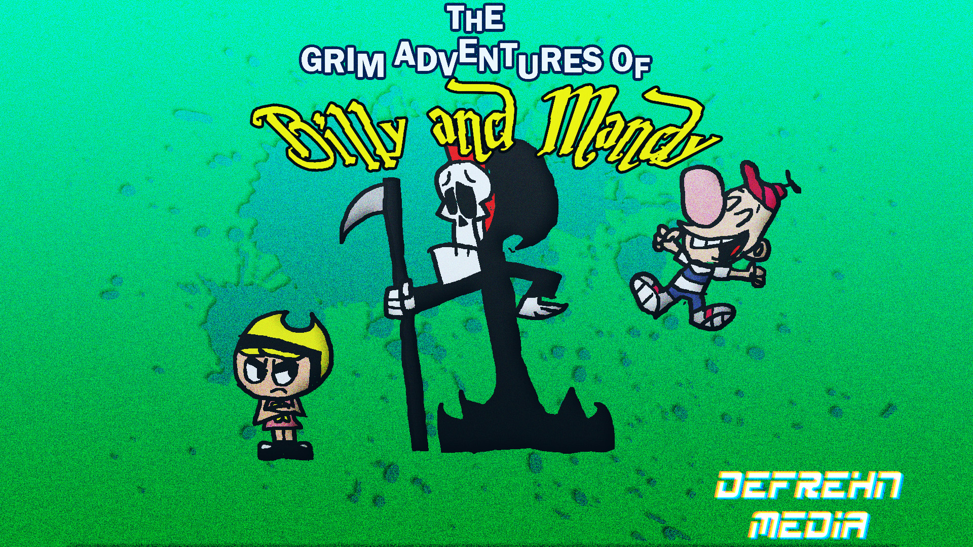 The Grim Adventures Of Billy And Mandy By Aidanart25 On Deviantart