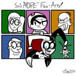 Six 'MORE' Fan-Arts