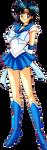 Ami Mizuno Sailor Mercury Super Sailor Form - Anim