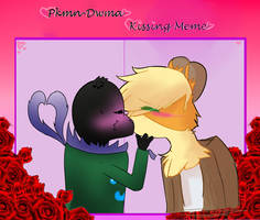 Pkmn DWMA - Kissing Meme - TerraxCarter by HTOdinTH
