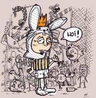 the bunny man by Fahmi-Kin