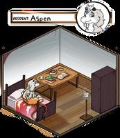 [Cranny] Aspen's room