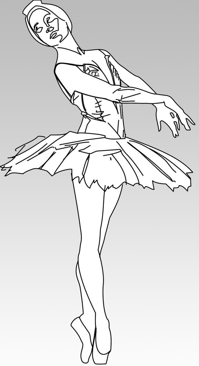 Disegni Di Ballerine Di Danza Classica Da Colorare E Stampare