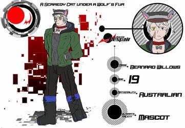 [G-D] Bernard Willows Ultimate Furry by Foxyfriend0412