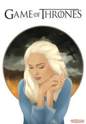 Daenerys Targaryen by lunxari