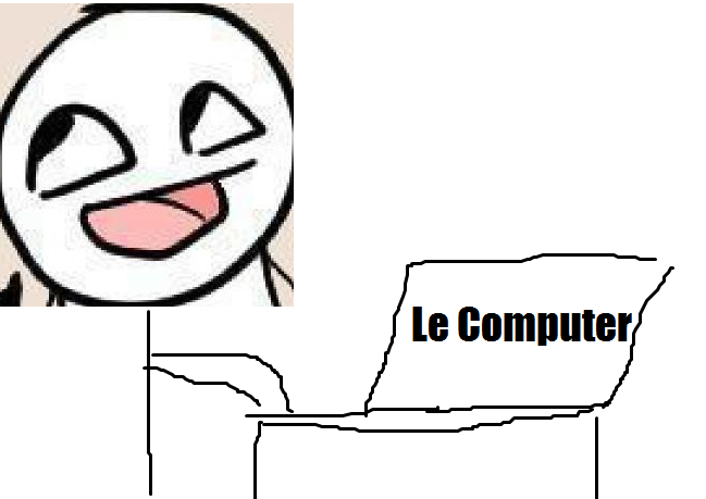 Me on the Computer 1 by JoeTheCynic