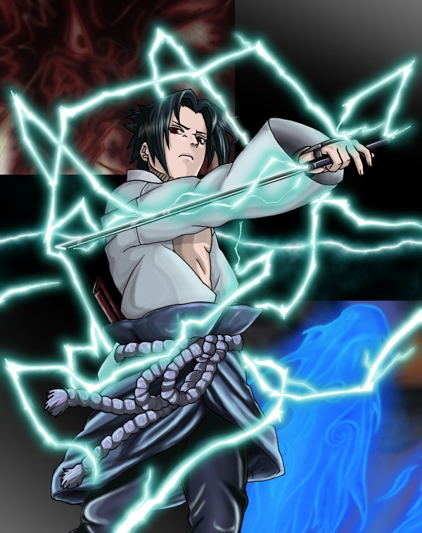 Sasuke chidori nagashi by ced by diabolumberto on DeviantArt