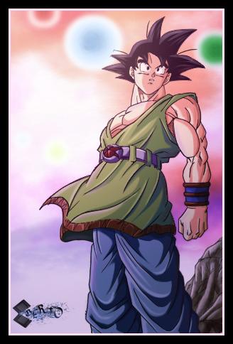 Se busca al Dr Bend - Página 2 Son_Goku_AF_by_diabolumberto
