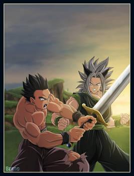 Dragon ball AF Gohan vs Zyke
