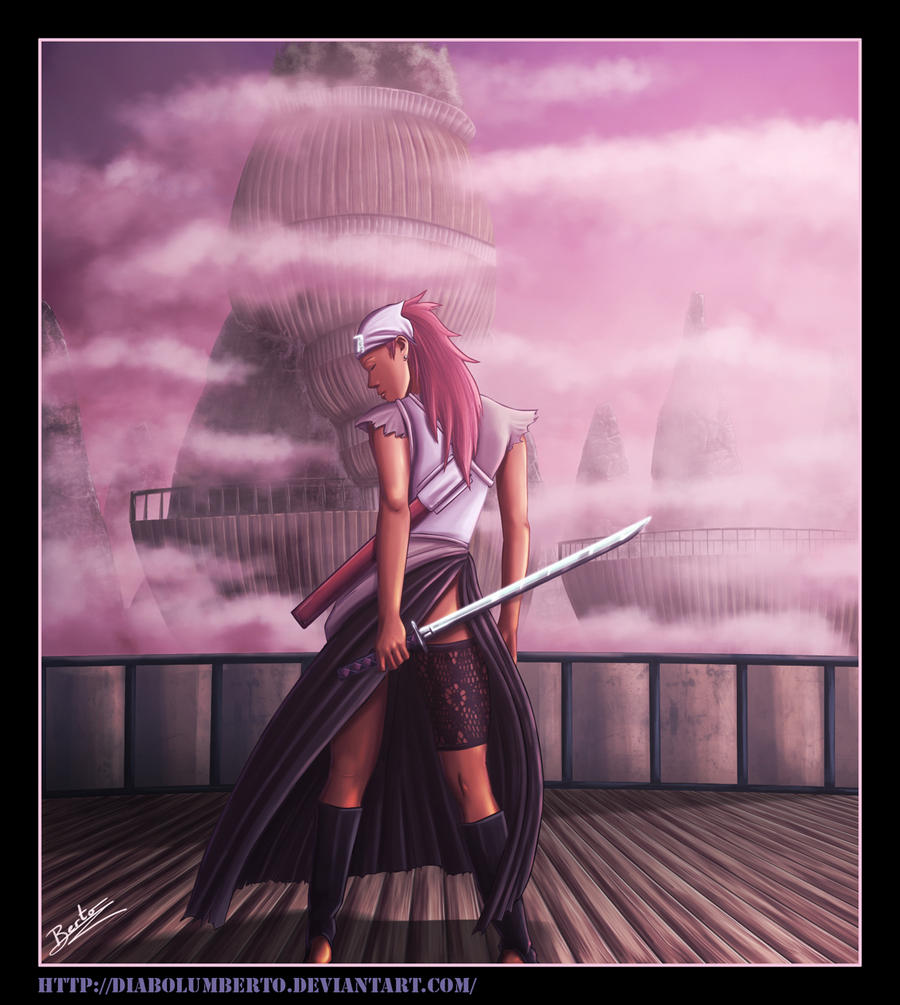 The Girls of Konoha An appreciation thread Karui___Naruto__by_diabolumberto