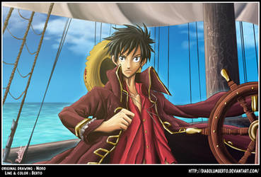 Luffy : ore wa kaizoku ou by diabolumberto