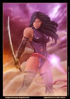 Psylocke -Xmen- by diabolumberto