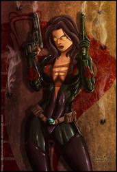 Baroness - G.I.Joe by diabolumberto
