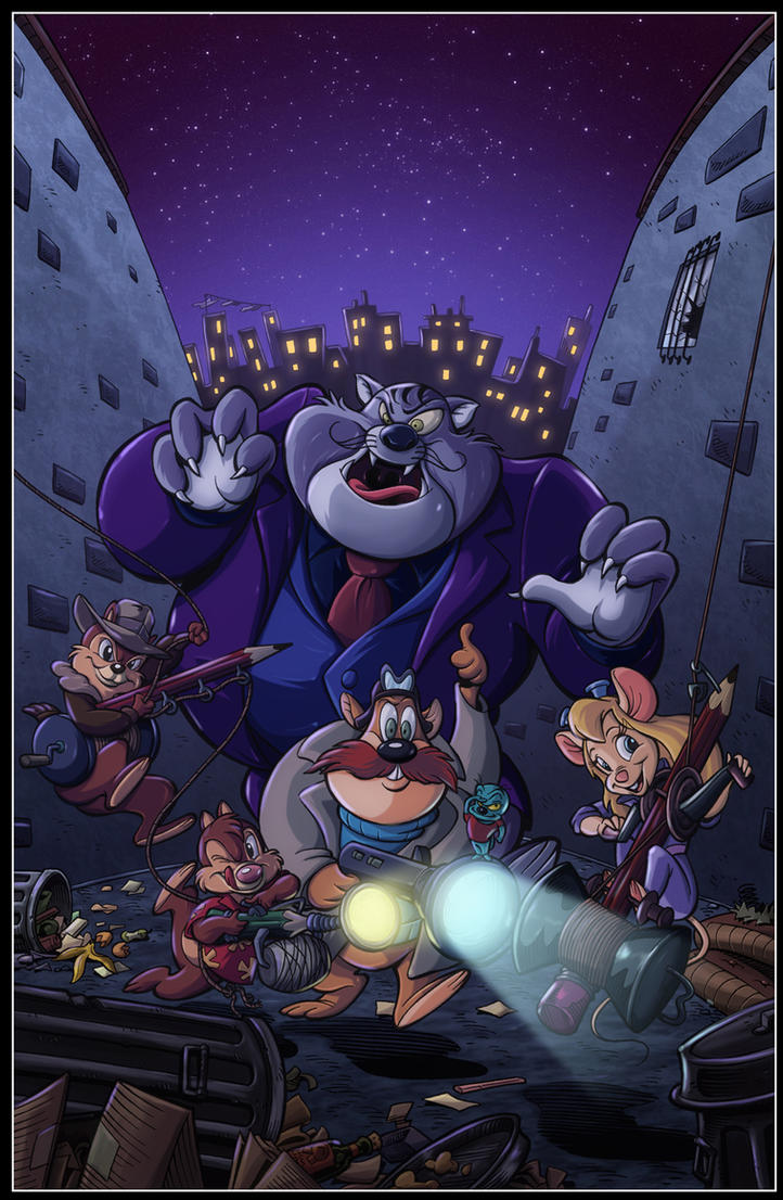 Chip 'N' Dale Rescue Rangers by diabolumberto