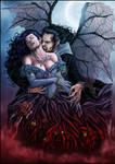 Vampire and Victim by Al Rio