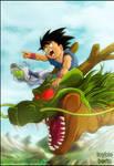 Dragon Ball AF : Let's go by diabolumberto