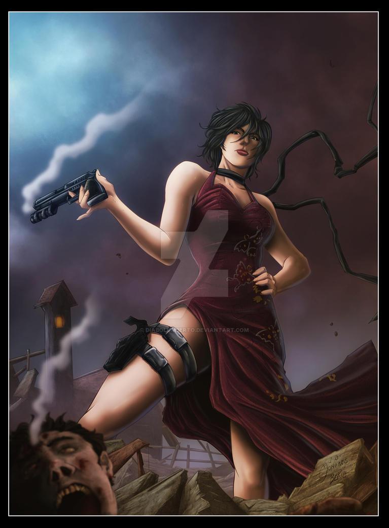 Ada Wong : Resident Evil 4 by diabolumberto