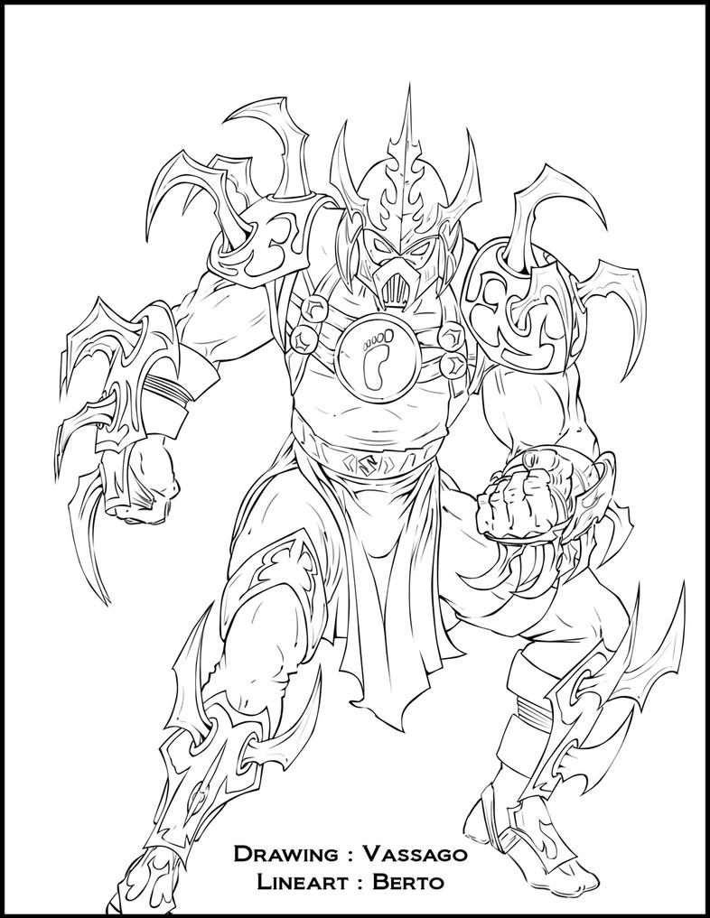 shredder coloring pages - photo#2