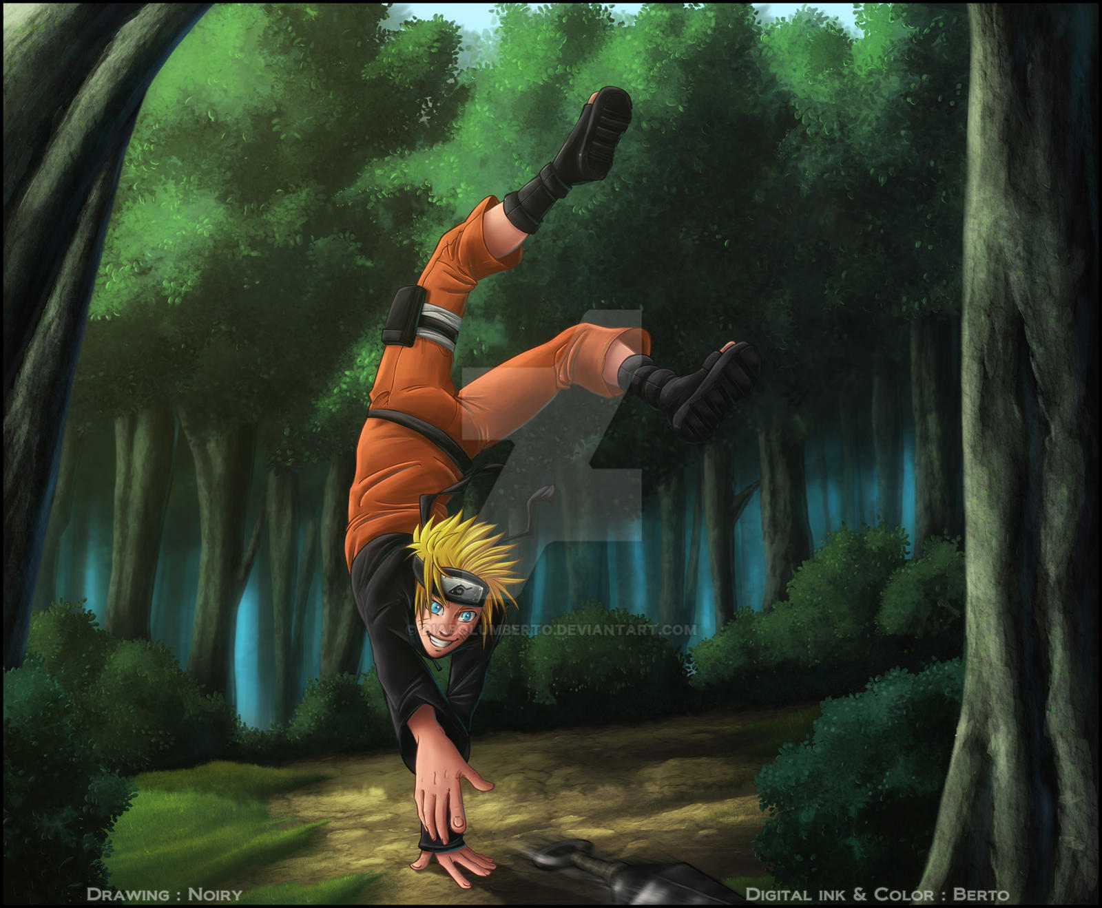Naruto by diabolumberto