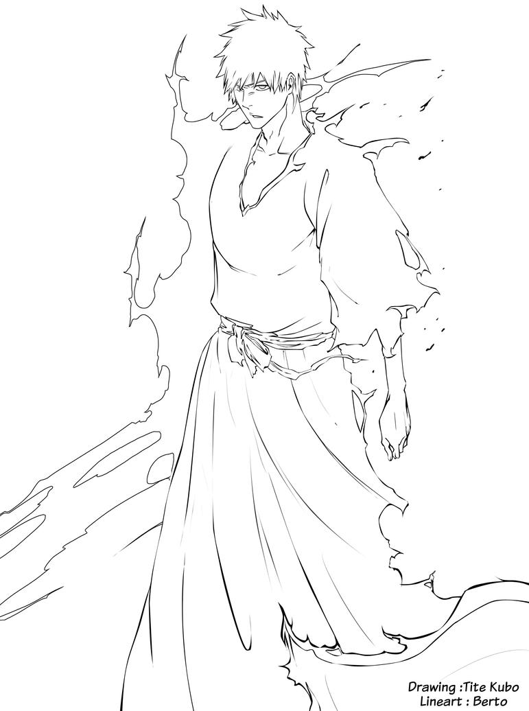 ichigo coloring pages - photo#24