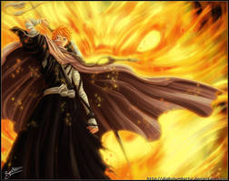 Ichigo save rukia by diabolumberto