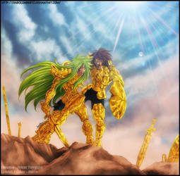 Saint Seiya : End of war color by diabolumberto