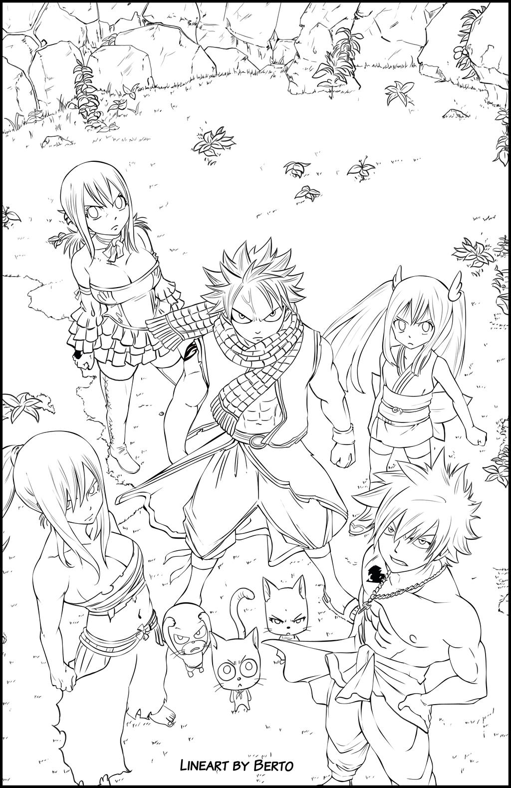 fairy anime coloring pages - photo#49