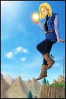 C18 - Dragon Ball - by diabolumberto