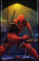 Deadpool by diabolumberto