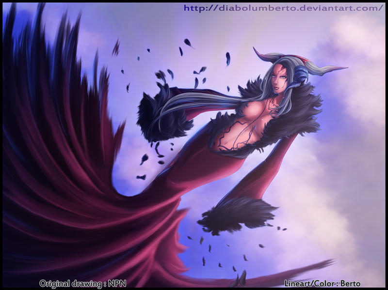 Ultimecia - FFVIII- by diabolumberto on DeviantArt Ultimecia Hot