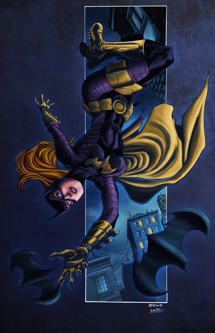 Batgirl by diabolumberto
