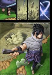 Sasuke enters the battlefield by diabolumberto