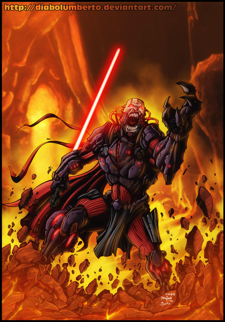 Star Wars - The old Republic - by diabolumberto