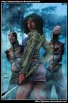 Michonne - The Walking Dead-