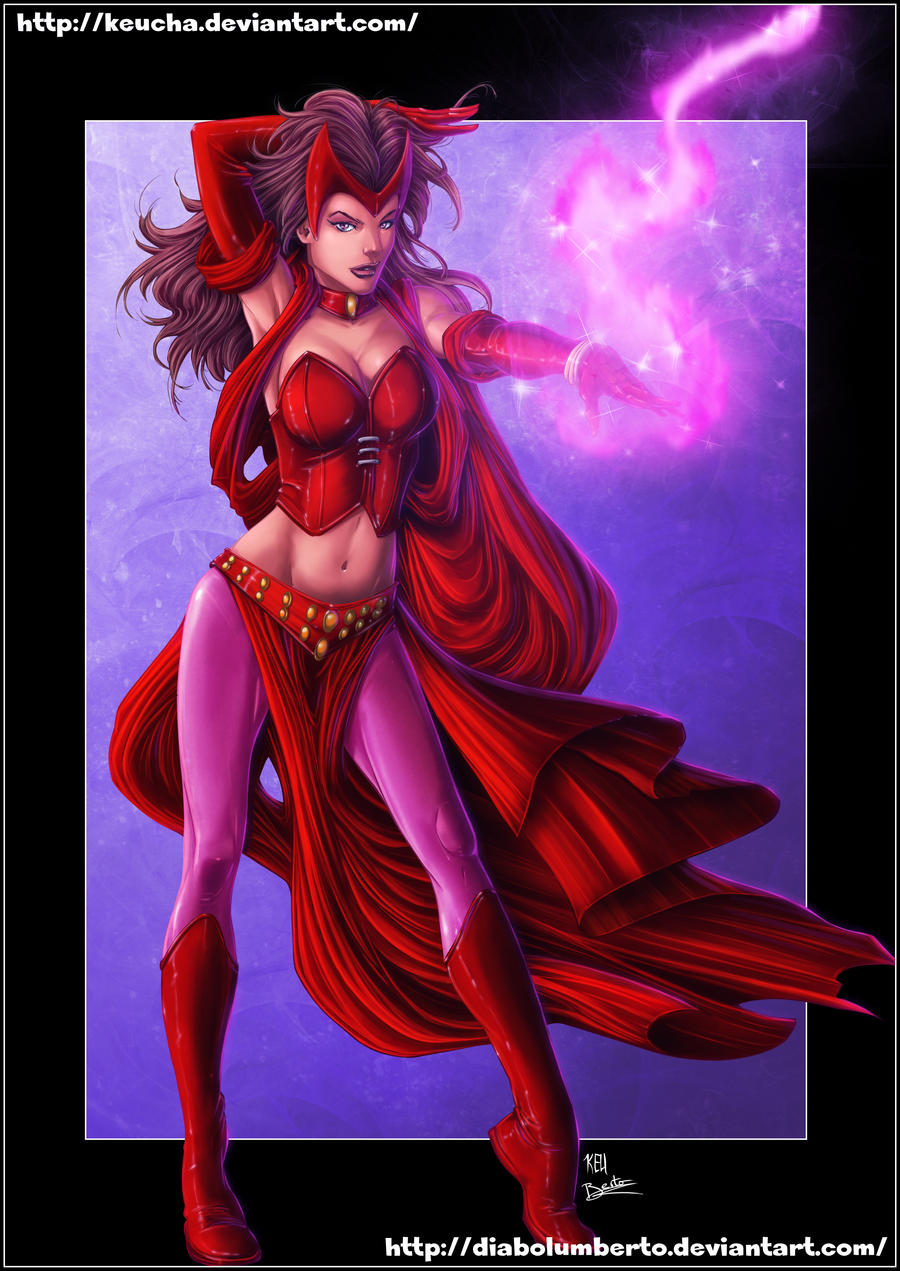 Scarlet Witch by diabolumberto