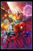 Avenging spider-man cover by diabolumberto