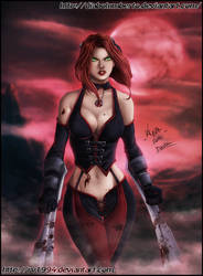 Bloodrayne by diabolumberto