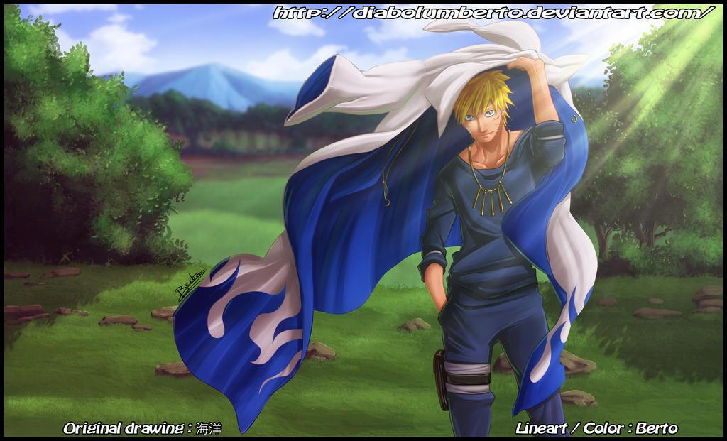 Hokage Naruto by diabolumberto