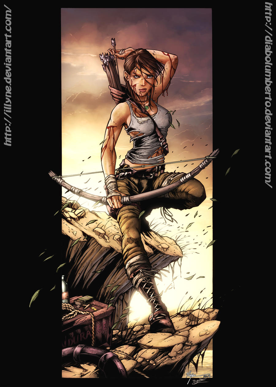 Tomb Raider - Survivor- by diabolumberto